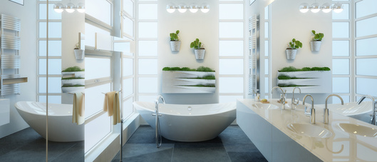 Contemporary Bathroom Adaptation (panoramic)